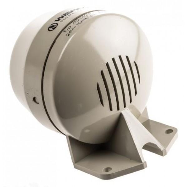 Werma 48205255 Grey Signal Horn 24V DC Supply 92dB