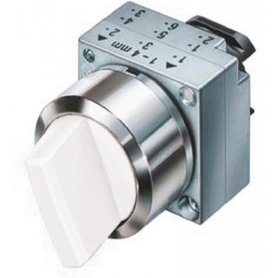 Siemens 3SB3500-2EA61 3 positions 50° Rotary Switch