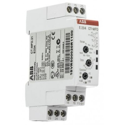 ABB CT-MFD.21 Multi Function Timer Relay 0.05s → 100h