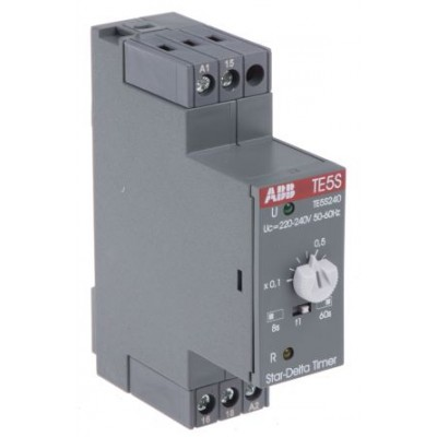 ABB 1SBN020010R1003 ON Delay Single Timer Relay 0.8 → 8s, 6 → 60s