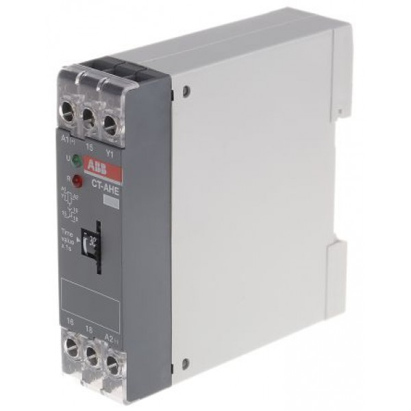 ABB 1SVR550111R4100-CT-AHE OFF Delay Single Timer Relay 0.3 → 30s