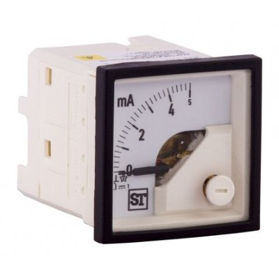 Sifam PQ74-I16L2N1CAW0ST Analogue Panel Ammeter 5mA DC