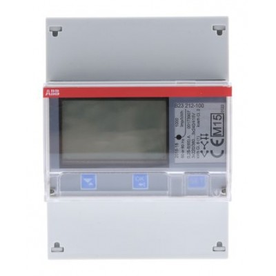ABB 2CMA100166R1000 LCD Digital Power Meter 7-Digits