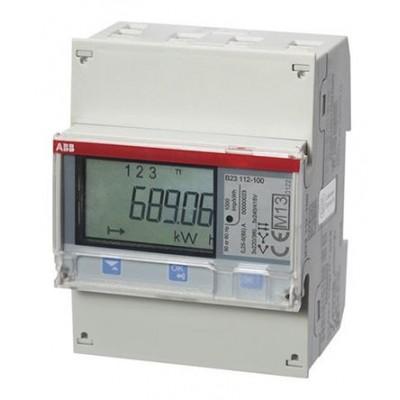 ABB B23 112-100 LCD Digital Power Meter 7-Digits