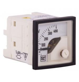 Sifam EQ44-V69X2N1CAW0ST AC Analogue Voltmeter 400V