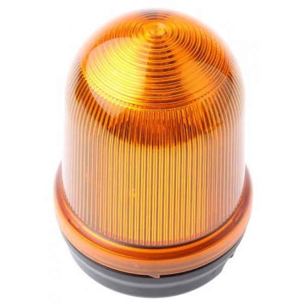 Werma 82730075 Incandescent Blinking Beacon Yellow Surface Mount 24 Vac/dc