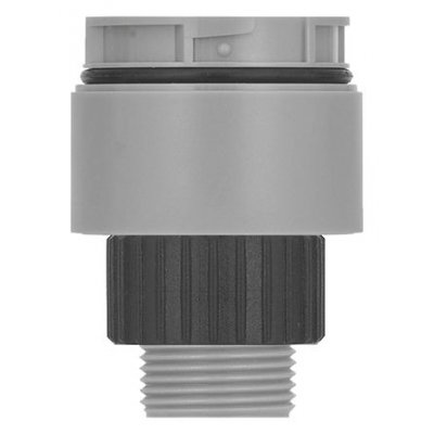 Werma 63072000 Grey Single Hole Adapter for use with KombiSIGN 40