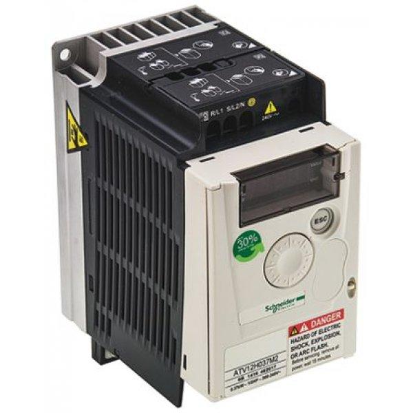 Schneider ATV12H037M2 Inverter Drive 0.37 kW with EMC Filter