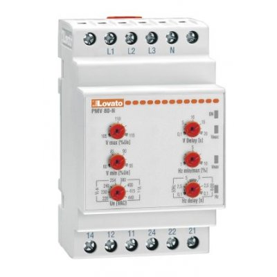 Lovato PMV80NA600 Voltage Monitoring Relay with SPDT