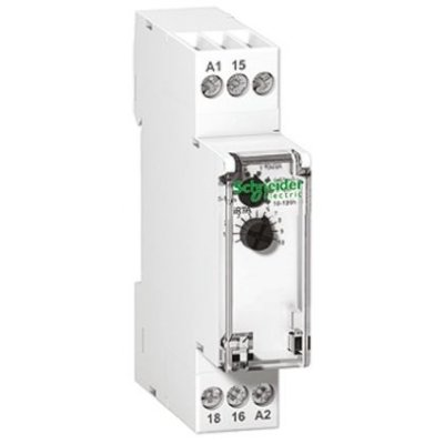 Schneider A9E16066 Time Delay Monitoring Relay with SPDT