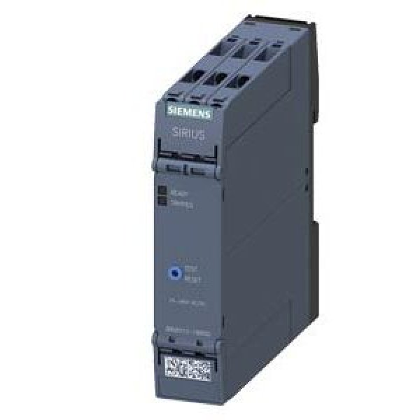 Siemens 3RN2012-1BW30 Voltage Monitoring Relay with DPDT Contacts, 240 V ac/dc