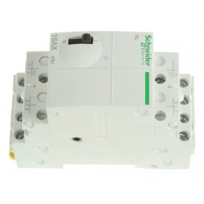 Schneider A9C30814 4P Impulse Relay with 4NO Contacts