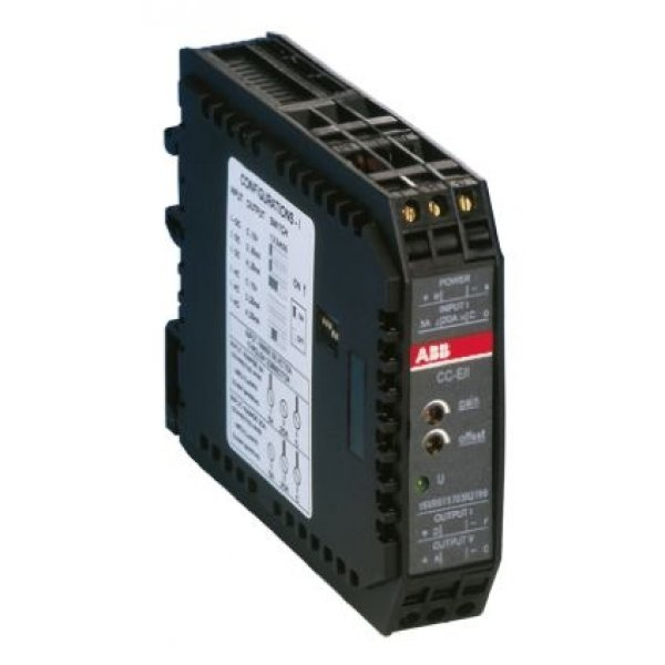 ABB 1SVR011708R0400 AC/DC Current to Current Signal Conditioner