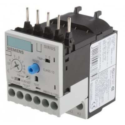 Siemens 3RB2016-1SB0 Overload Relay NO/NC, 3 → 12 A, 20 A, 5.5 kW