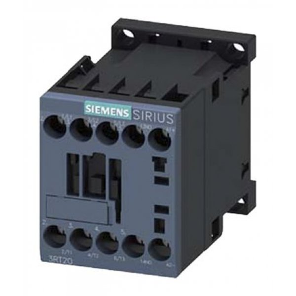 Siemens 3RT2017-1HB41 Control Relay 3NO, 11 A, 22 A, 24 V dc