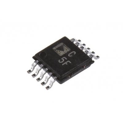 Analog Devices AD7982BRMZ 18-bit Serial ADC Differential Input, 10-Pin MSOP