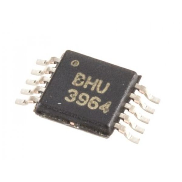 Texas Instruments ADS1112IDGST 16-Bit Serial ADC Differential, Single Ended Input