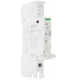 Schneider Electric A9A26927 DIN Rail Mount Auxiliary Contact with Screw Terminal
