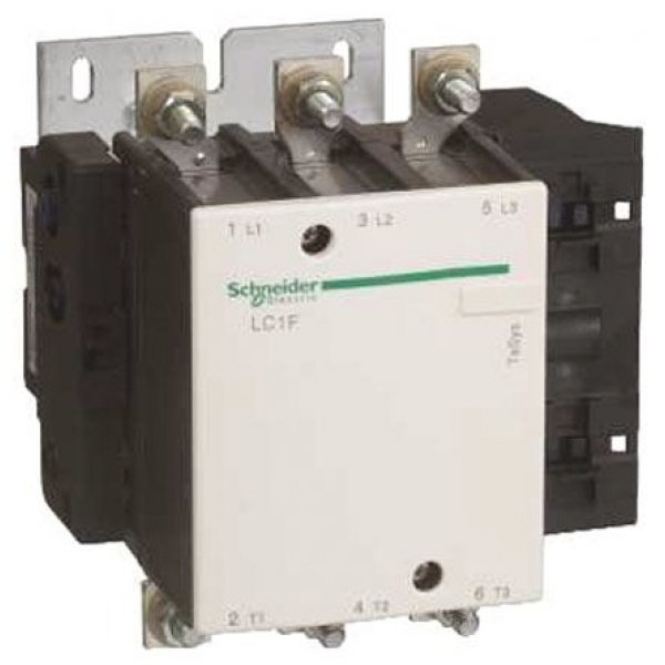 Schneider Electric LC1F265MD  3 Pole Contactor, 3NO