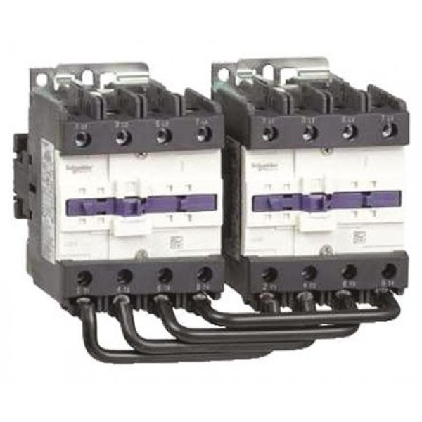 Schneider Electric LC2D80004N7  4 Pole Contactor, 400 V ac Coil