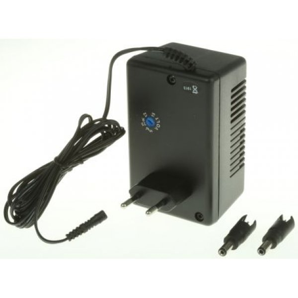 Mascot 8713000167 Plug In Power Supply 5 → 15V dc, 500 → 800mA, 1 Output Linear