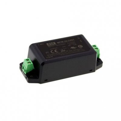 Mean Well MPM-30-24ST 31.2W Encapsulated Switch Mode Power Supply