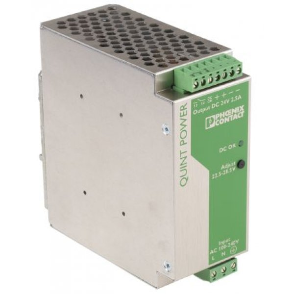 Phoenix Contact 2938578 QUINT Switch Mode DIN Rail Panel Mount Power Supply