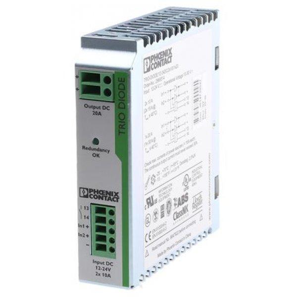Phoenix Contact 2866514 TRIO Switch Mode Dual Redundancy Module 24V dc/ 20A