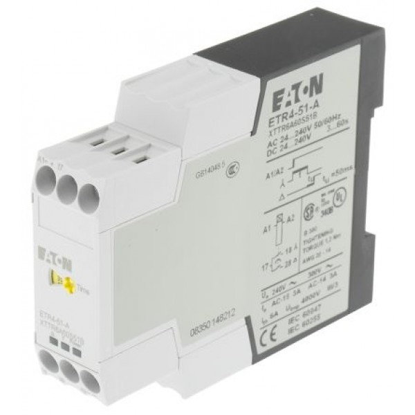 Eaton ETR4-51-A Star Delta Switching Single Timer Relay