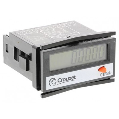 Crouzet 87622162 8 Digit LCD Digital Counter