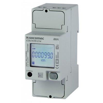 Socomec 48503061 Countis E12 1 Phase Backlit LCD Digital Power Meter