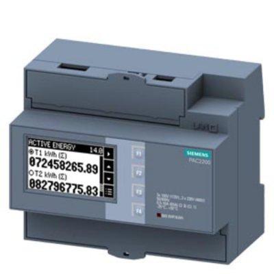 Siemens 7KM2200-2EA40-1DA1 3 Phase LCD Digital Power Meter