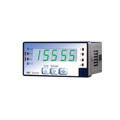 Baumer PA418.065AX01 LED Digital Panel Multi-Function Meter for Current, Power, Voltage