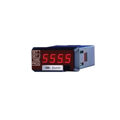 Baumer TA1220.515AX01 LED Digital Panel Multi-Function Meter for Current, Power, Voltage