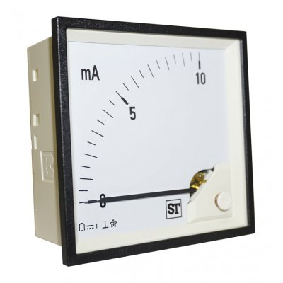 Sifam Tinsley PQ94-I20L2N1CAW0ST Analogue Panel Ammeter 20mA DC, 96mm x 96mm