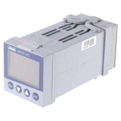 Jumo 703041/181-000-23/000 PID Temperature Controller 1 (Analogue) Input, 4 Output Logic, Relay