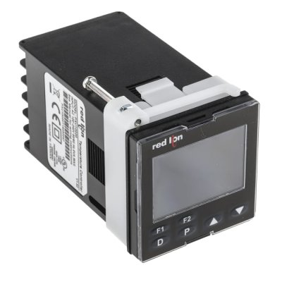 Red Lion PXU10020 Panel Mount PID Temperature Controller 1 Output Relay, 100 → 240 V ac
