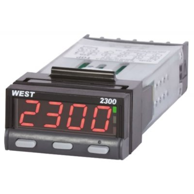 West Instruments N2300Y0002 PID Temperature Controller 2 Output, 12  30 V dc, 24 V ac