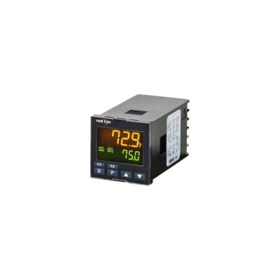 Red Lion PXU41AB0  PID Temperature Controller 2 Input, 2 Output 0-10 V dc, Relay, 24 V dc Supply