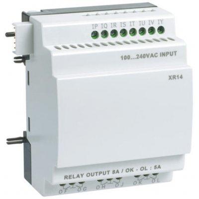 Crouzet 88970233  Millenium 3 I/O module - 8 Inputs, 6 Outputs, Relay