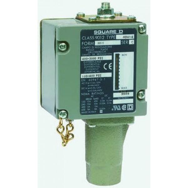Telemecanique 9012ADW4M11 Differential Pressure Sensor