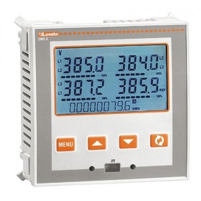 Lovato DMG610 LCD Digital Power Meter