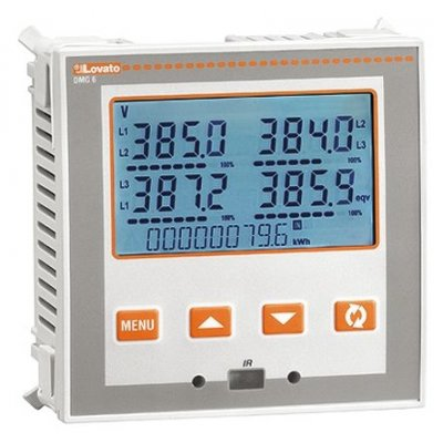 Lovato DMG600 LCD Digital Power Meter