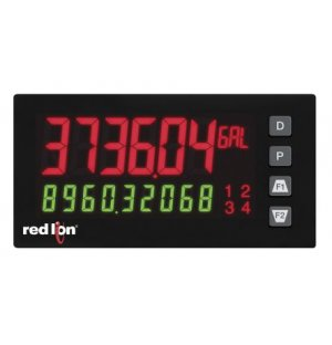 Red Lion PAX2S000 LED Digital Panel Multi-Function Meter