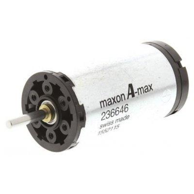 Maxon 236646 Brushed DC Motor 18Vdc 5270rpm 4mm Shaft