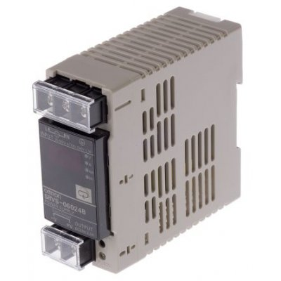 Omron S8VS-06024B DIN Rail Panel Mount Power Supply 60W 24V 2.5A