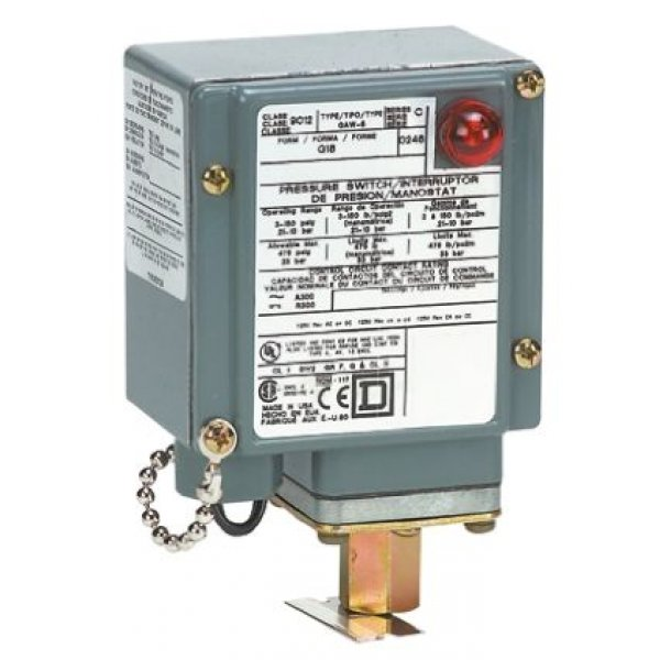 Telemecanique Sensors 9012GAW6 Differential Pressure Switch