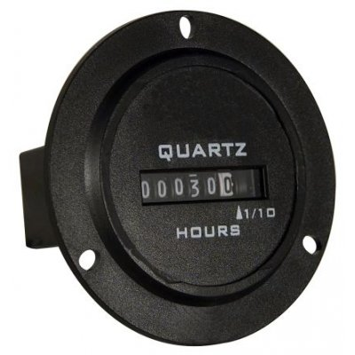Trumeter 722-0004 Hour Counter 6 digits 90-264 Vac