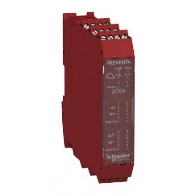 Schneider XPSMCMMX0802 Input/Output Module 10 Inputs 8 Outputs 24 Vdc