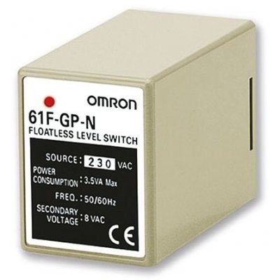 Omron 61FGPN2230AC Level Controller DIN Rail Mount